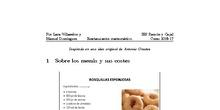 Restaurante matemático - Parte 1 Los menús