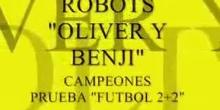 Robots fútbol escolar