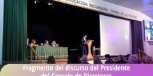 Fragmento del discurso del Presidente del Consejo de Directores