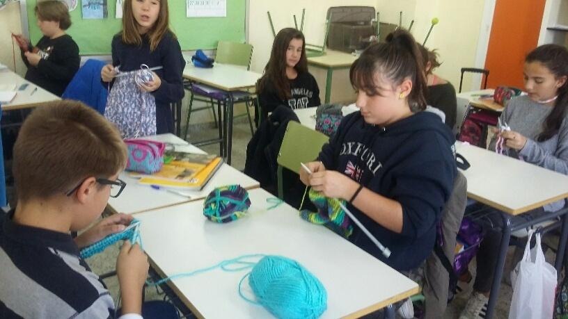 Tejiendo nuestras bufandas 3