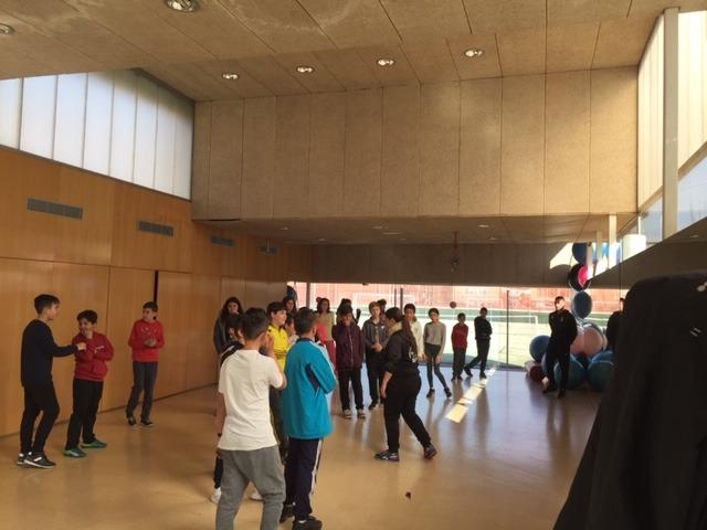MAÑANAS ACTIVAS. Polideportivo San Vicente de Paul 1. Boxeo, Rugby, Padel y Hockey 25