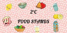 2°C FOOD STANDS