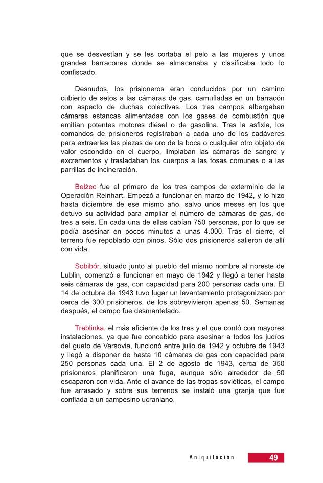 Página 49 de la Guía Didáctica de la Shoá