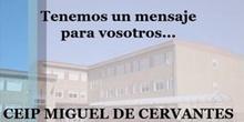 CEIP Miguel de Cervantes (Mejorada del Campo) - Todo saldrá bien