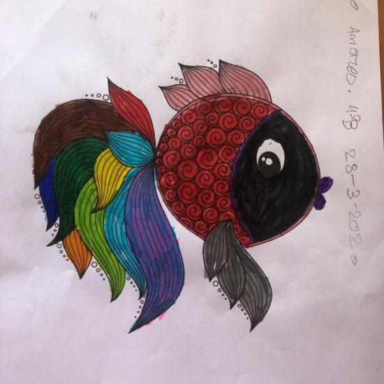Hugo Amores Fish Mandala