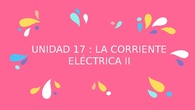 La corriente eléctrica II