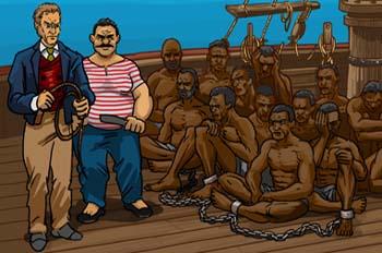 Un capitán de 15 años: El comercio de esclavos