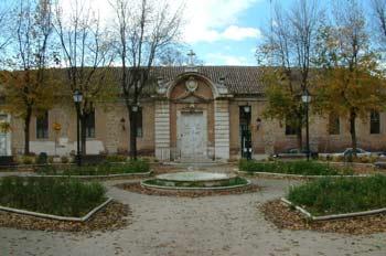 El antiguo Hospital de San Carlos, Aranjuez, Comunidad de Madrid